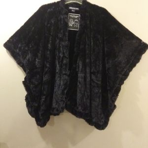 Gorgeous Faux Fur Wrap, can be worn two ways, NWT